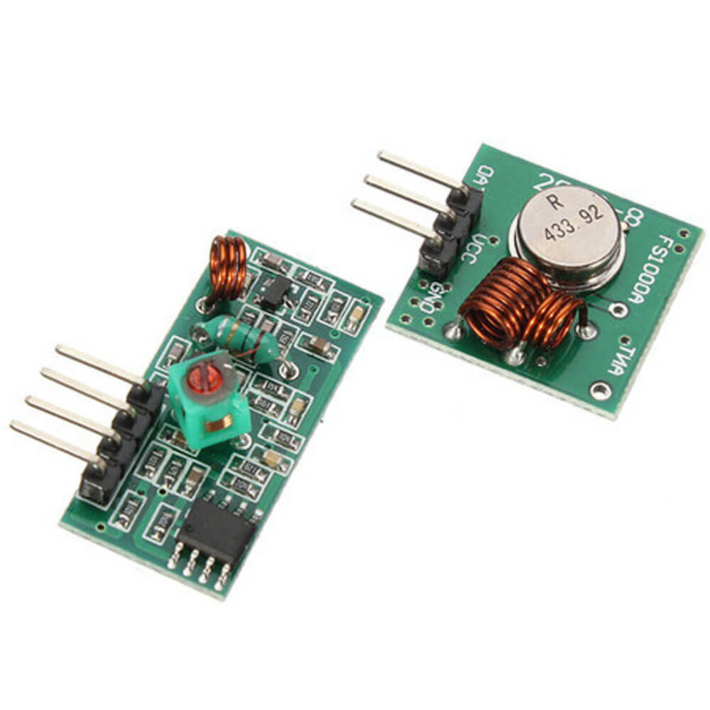 M057 433Mhz RF transmitter receiver link kit for Arduino