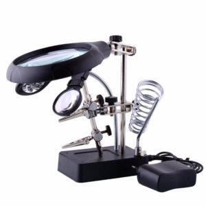 Helping Hand Magnifier Solder Stand